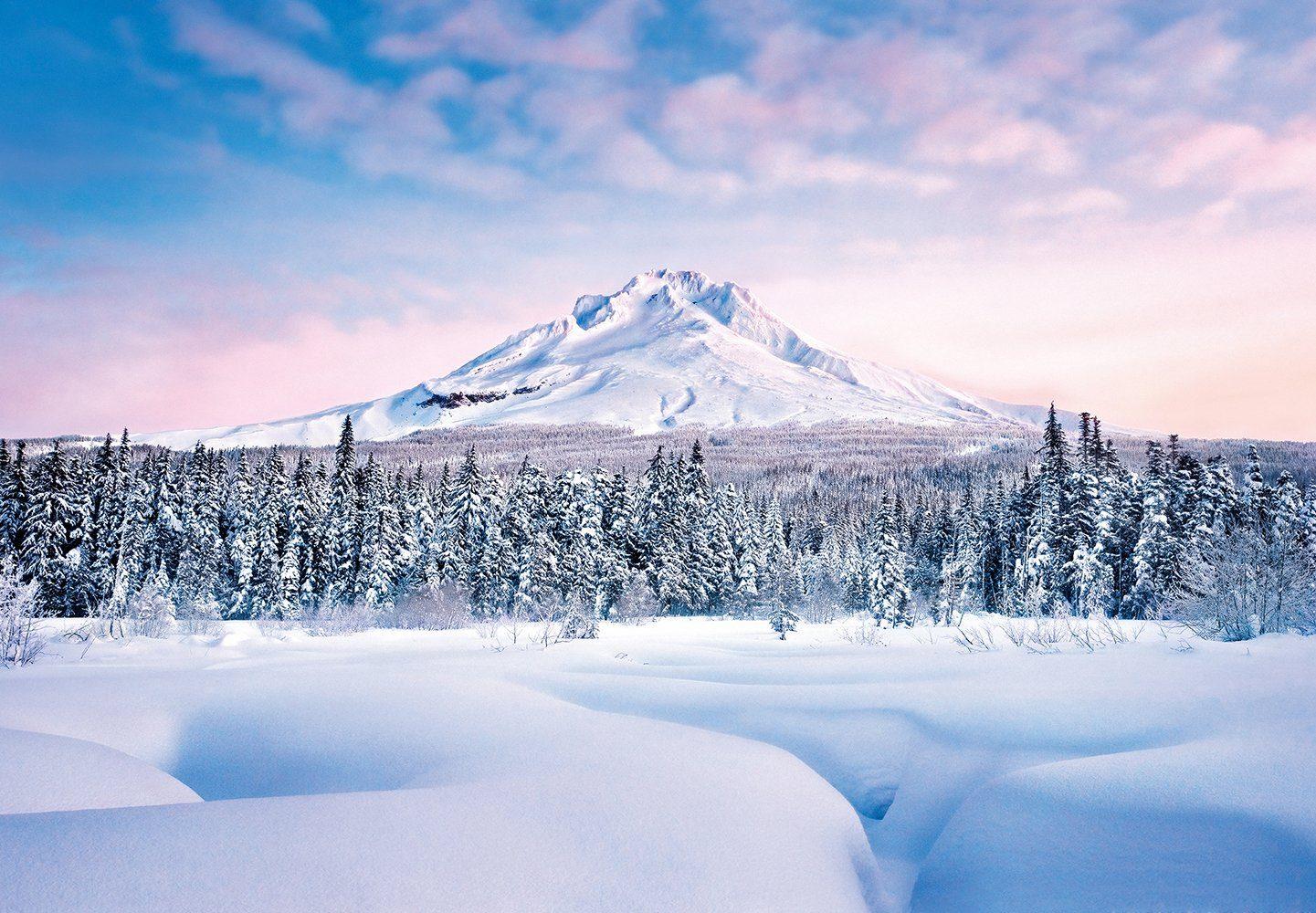 Fototapete »Mountain Graceful«, 8-teilig, 366x254 cm