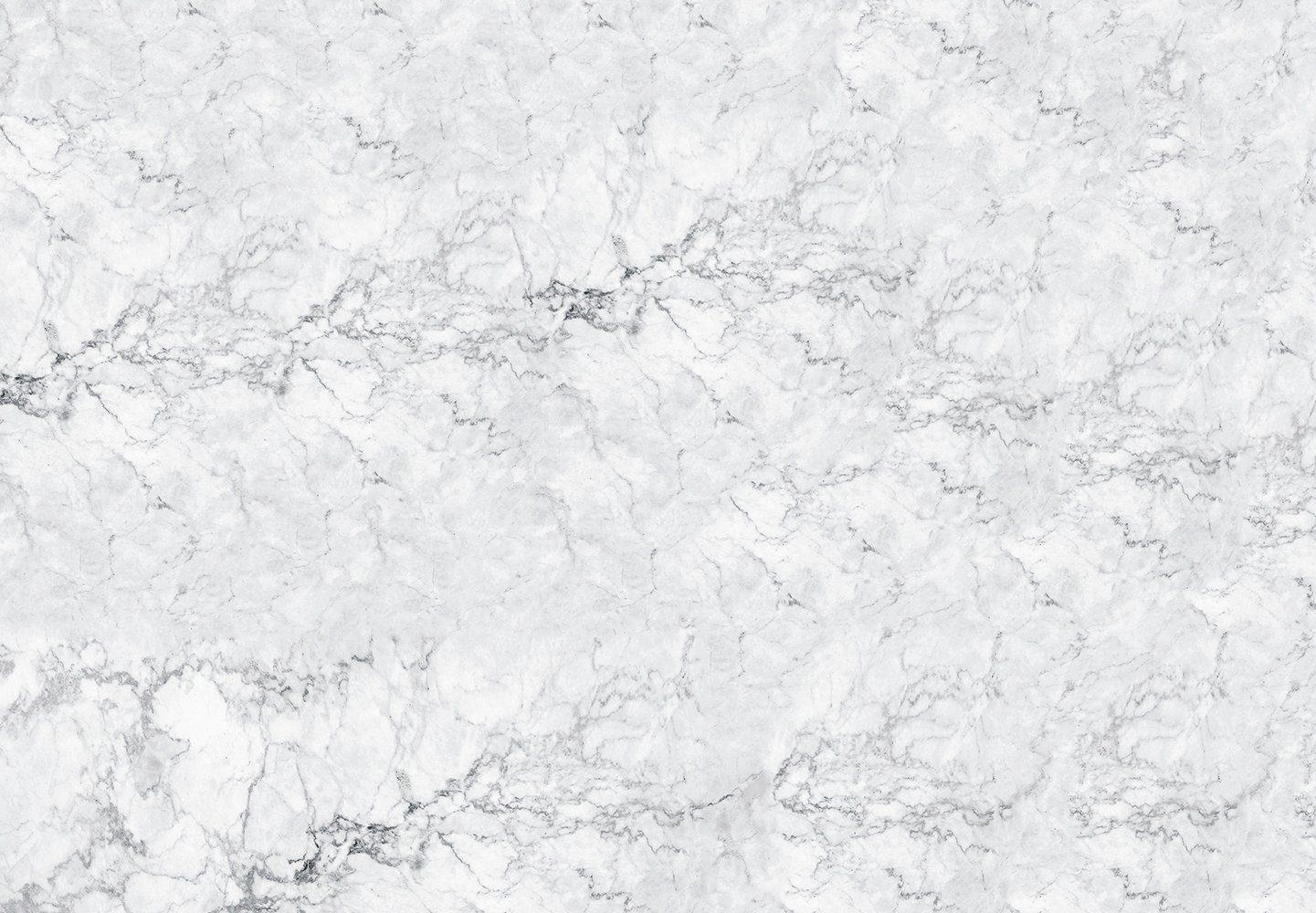 Vliestapete »White Marble«, 366x127cm, 4-teilig
