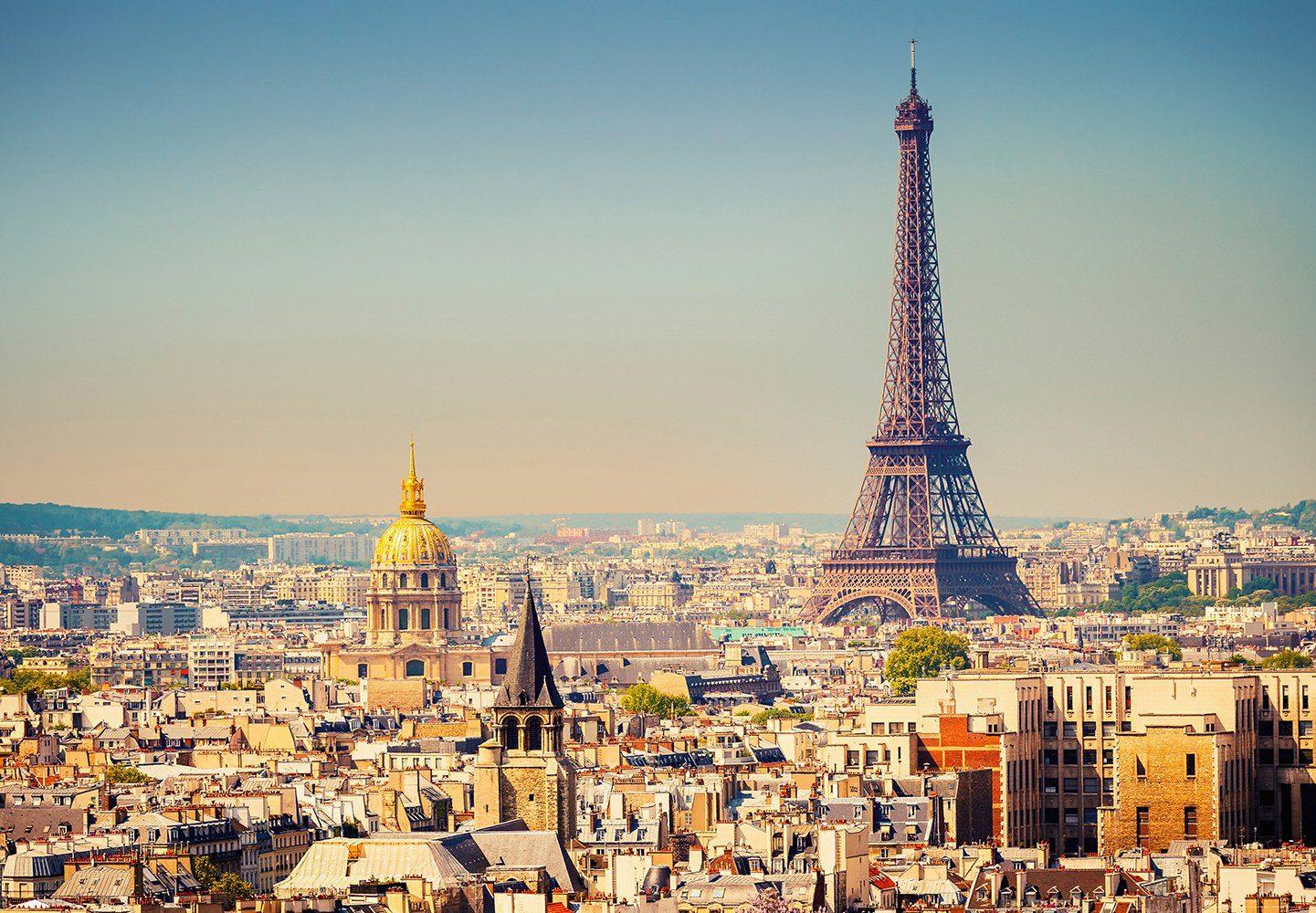 Vliestapete »Paris«, 366x254cm, 8-teilig