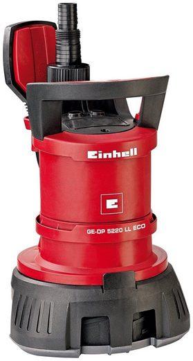 EINHELL Schmutzwasser-Tauchpumpe »GE-DP 5220 LL ECO«, 13.500 l/h
