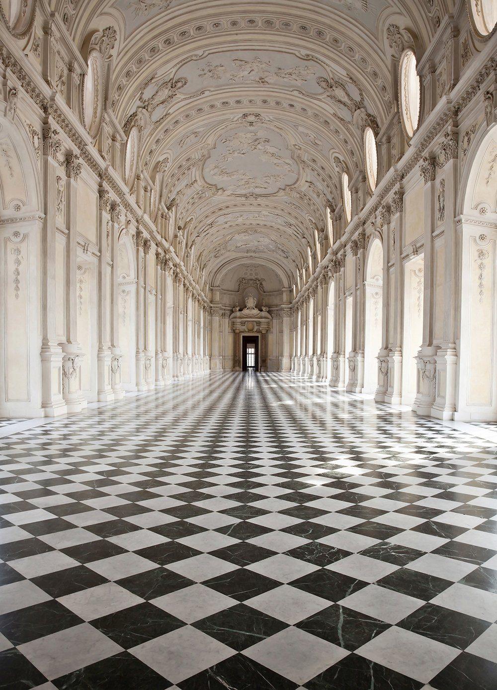 Vliestapete »Palace of Venaria«, 183x254cm, 4-teilig