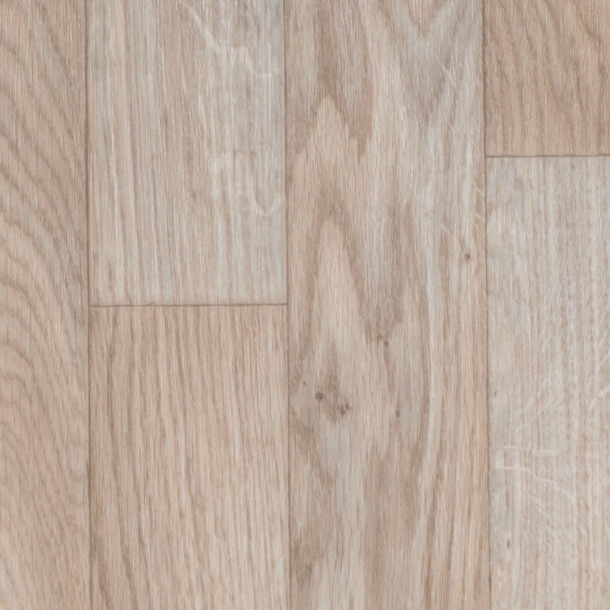 BODENMEISTER Vinylboden »Furlana«, Schiffsboden Eiche weiß, Breite 200/300/400 cm