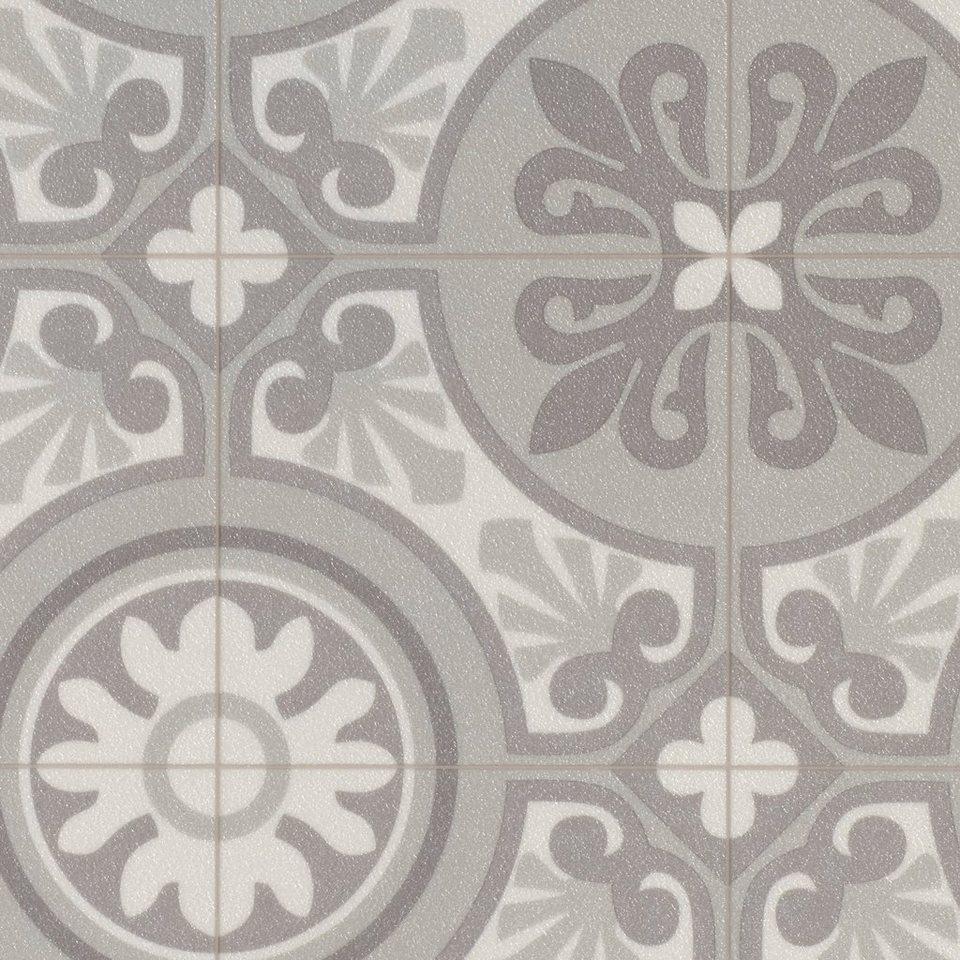 bodenmeister vinylboden vintage trend retro grau breite 200 300 400 cm online kaufen otto. Black Bedroom Furniture Sets. Home Design Ideas