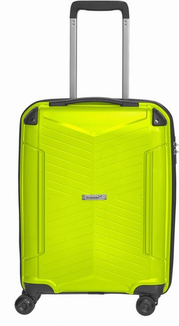 Packenger Hartschalen-Trolley »Silent«, 4 Rollen | Taschen > Koffer & Trolleys > Trolleys | Grün | Packenger