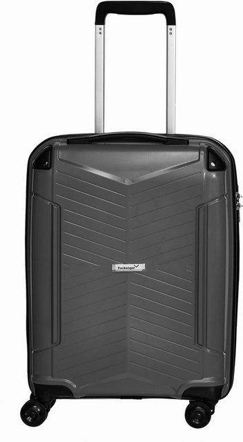 Packenger Hartschalen-Trolley »Silent«, 4 Rollen | Taschen > Koffer & Trolleys > Trolleys | Schwarz | Packenger