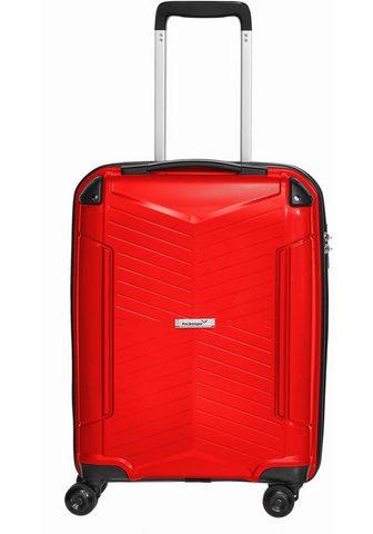 PACKENGER Plastikinis lagaminas ant ratukų
