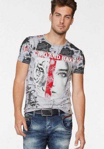 Cipo & Baxx T-Shirt Tigerface