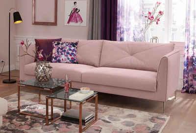 Dreier Sofa sofa in rosa altrosa kaufen otto