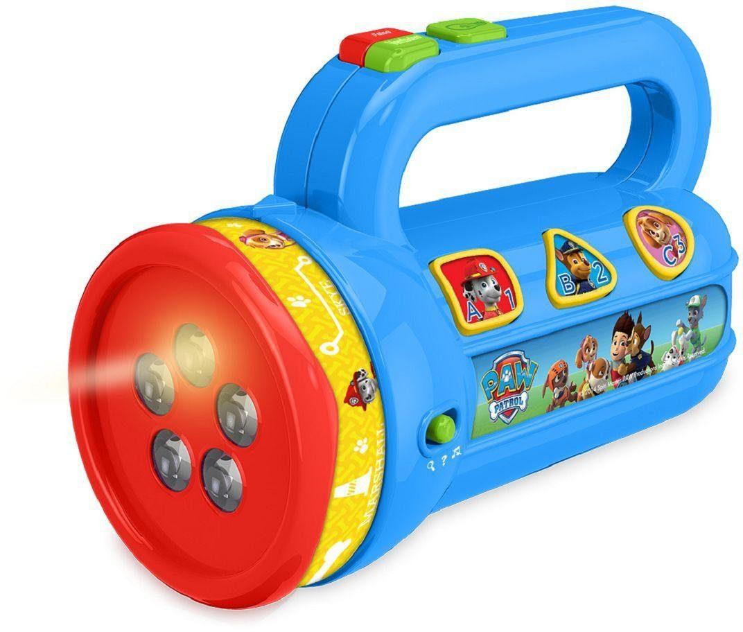 KD Kidz Delight Kindertaschenlampe mit Projektion und Lerninhalten, »Paw Patrol Lerntaschenlampe«