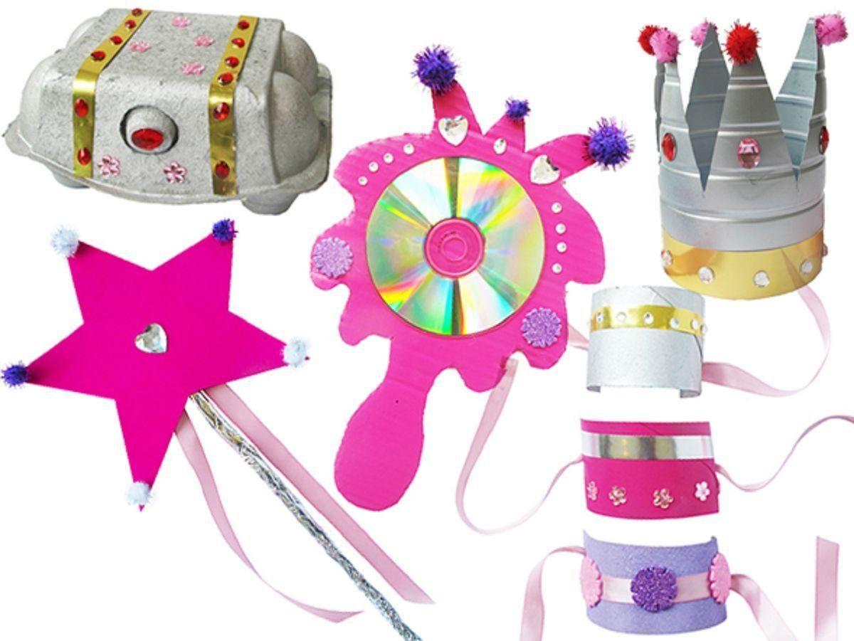 KD Kidz Delight Kreativset, »ReCycleMe Partybox Prinzessin«