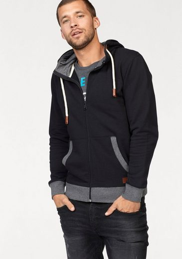 John Devin Hooded Sweat Jacket With Cord