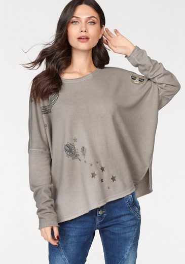 Cream Sweatshirt ADELIA