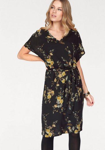 Soaked In Luxury Print Dress Mari, With Waist Belt