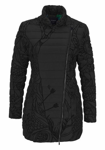 Desigual Outdoorjacke OSAMIM, mit Allover-Flockprint
