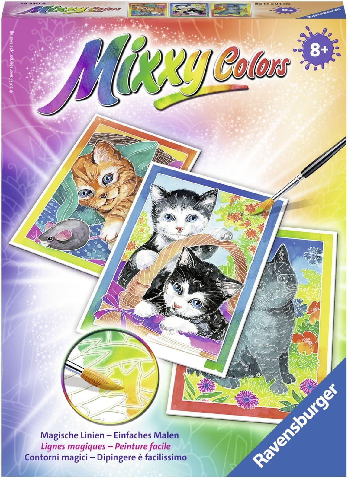 Ravensburger Malset, »Mixxy Colors Kätzchen«