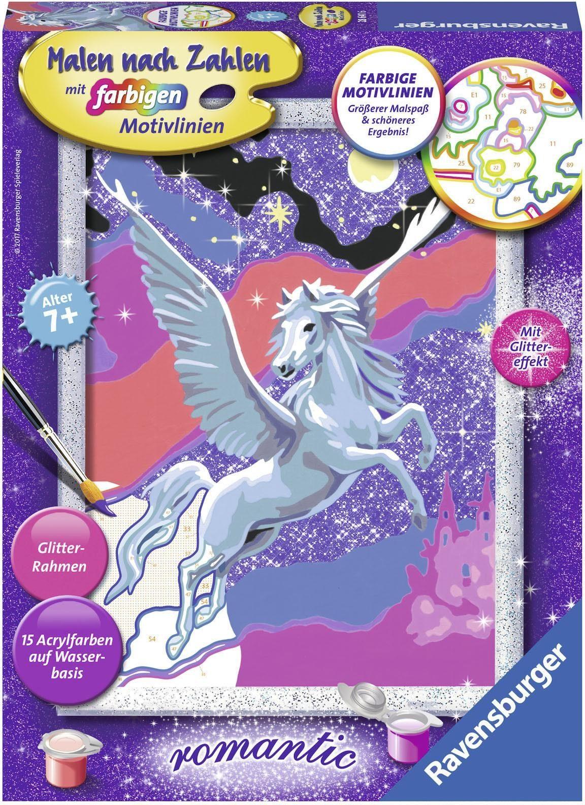 Ravensburger Malen nach Zahlen, »Stolzer Pegasus«