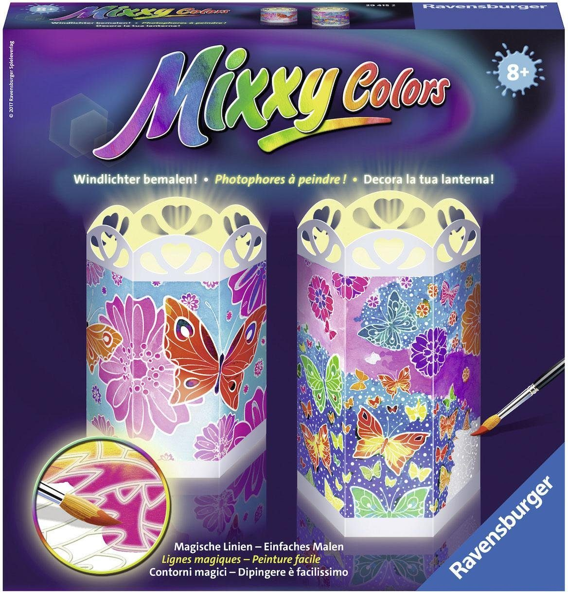 Ravensburger Malset, »Mixxy Colors Bunte Schmetterlinge«