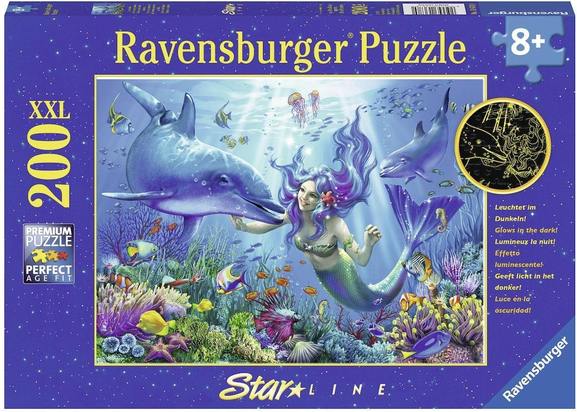 Ravensburger Leuchtendes Unterwasserparadies, »XXL Puzzle, 200 Teile«