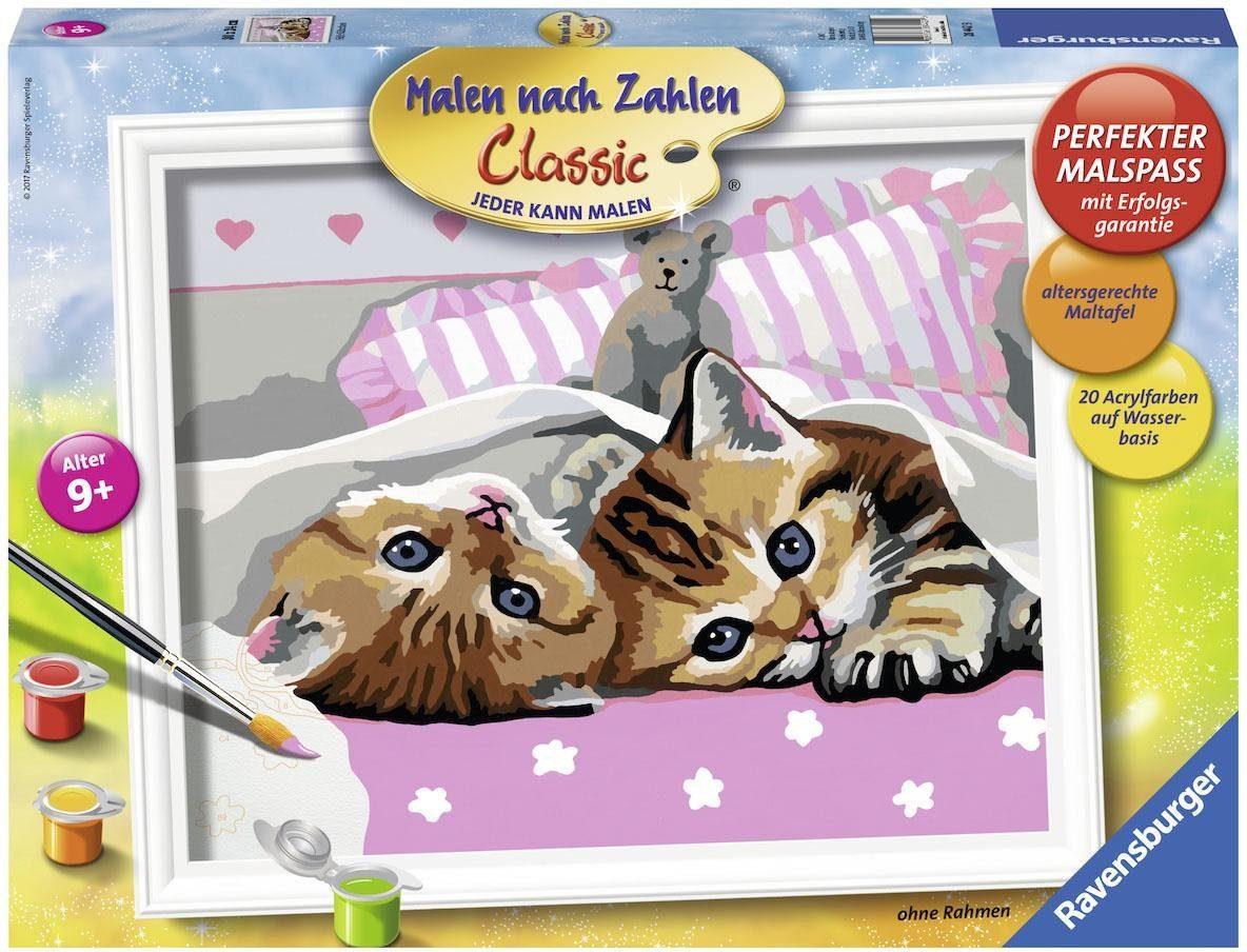 Ravensburger Malen nach Zahlen, »Classic Süße Kätzchen«