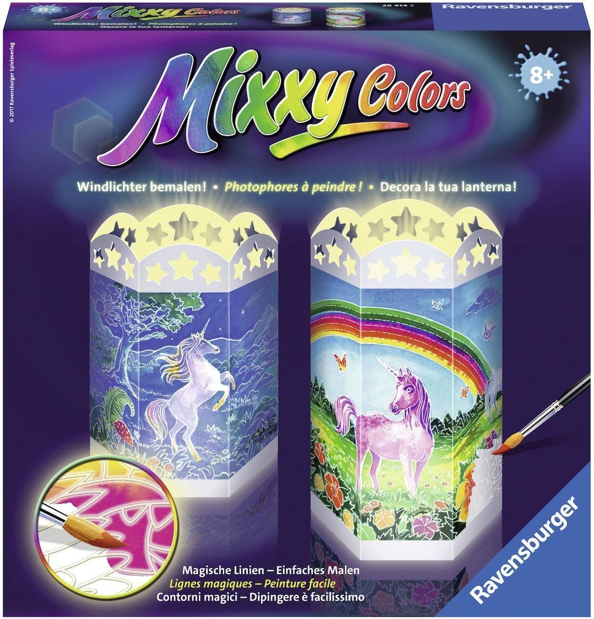 Ravensburger Malset, »Mixxy Colors Magische Einhörner«