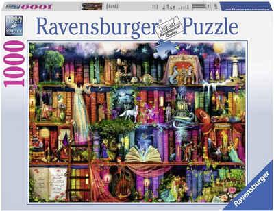 Ravensburger Puzzle »Magische Märchenstunde«, 1000 Puzzleteile, Made in Germany, FSC® - schützt Wald - weltweit