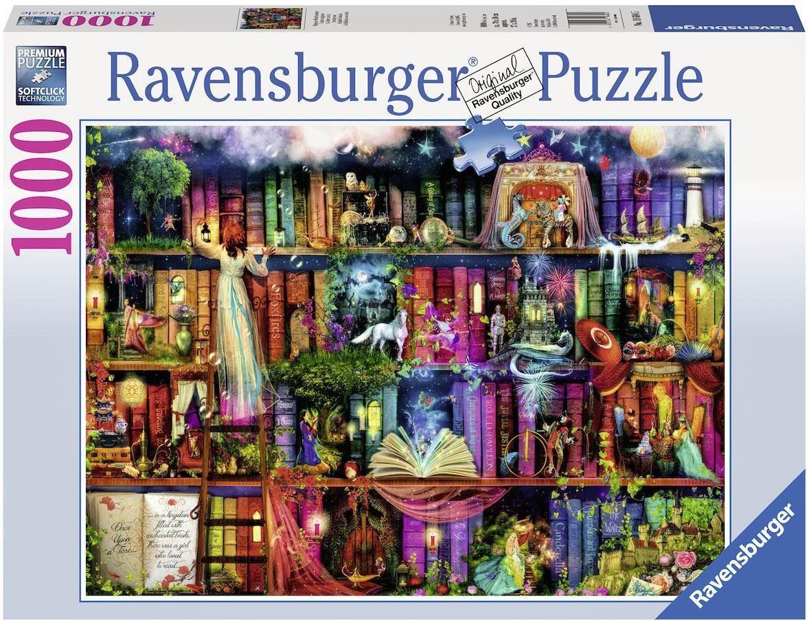 Ravensburger Puzzle, 1000 Teile, »Magische Märchenstunde«