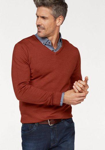 Brax V-Ausschnitt-Pullover