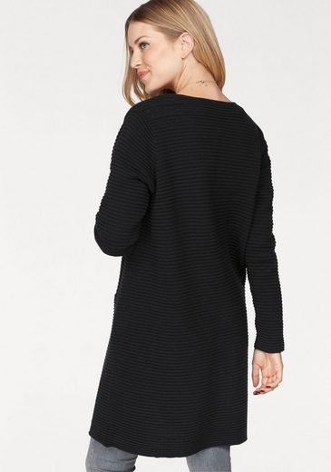 SELECTED FEMME Longstrickjacke LAUA, in gerippter Struktur