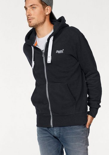 Superdry Kapuzensweatjacke ORANGE LABEL ZIPHOOD