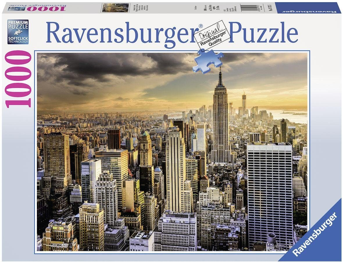 Ravensburger Puzzle, 1000 Teile, »Großartiges New York«