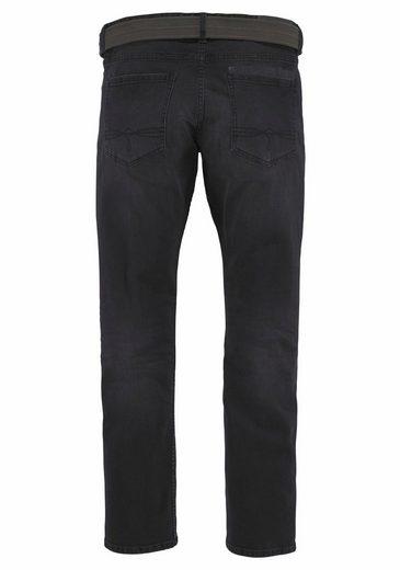 S.oliver Red Label Slim-fit-jeans (set, Mit Gürtel)