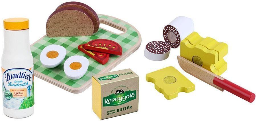 Tanner Spiellebensmittel aus Holz, »Brotzeit mit Zubehör«
