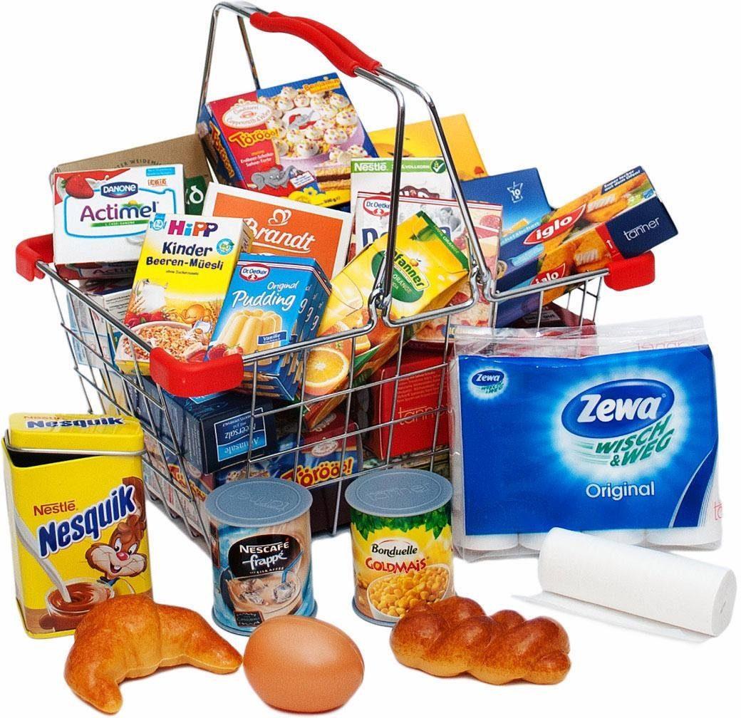 Tanner Einkaufskorb mit Kaufladensortiment, »Küchenkorb«