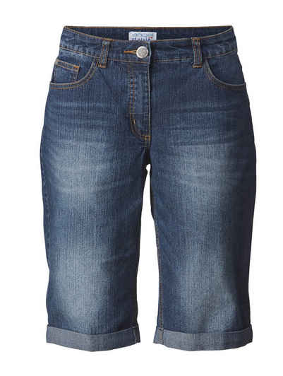 Angel of Style by Happy Size Jeans-Shorts mit Umschlag 7dfb6f5a36