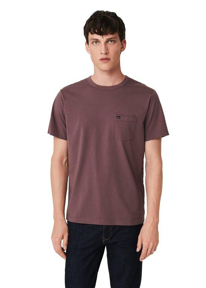 mango man baumwoll t shirt mit tasche kaufen otto. Black Bedroom Furniture Sets. Home Design Ideas
