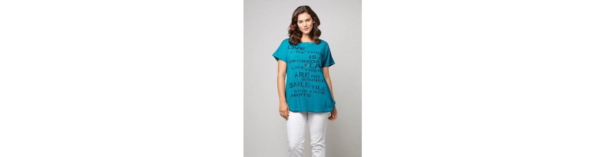 Happy By Size Mit Statementprint Wash Shirt Joyce Oil Und Janet SqU6wx4q