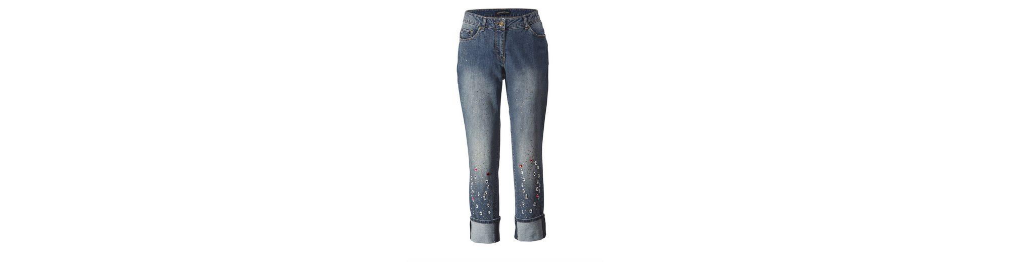 Sara Lindholm by Happy Size Jeans knöchellang mit Strass 2018 Unisex rJehK12j