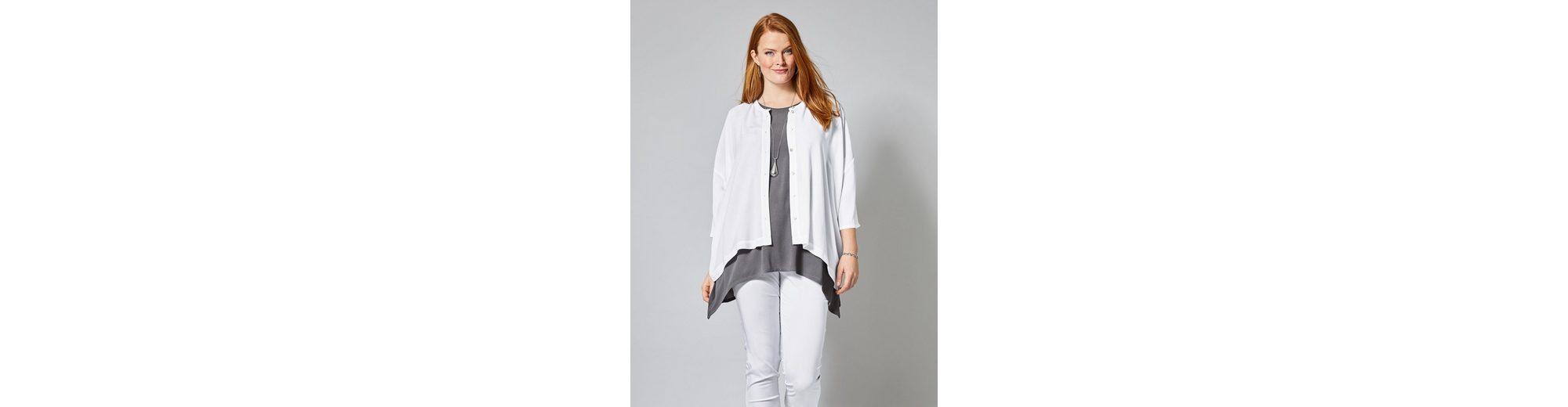 Sara Lindholm by Happy Size Bluse in Oversize-Form Fälschung Billige Visum Zahlung Auslass Ausgezeichnet BBLWx