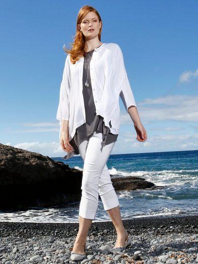 Sara Lindholm by Happy Size Bluse in Oversize-Form