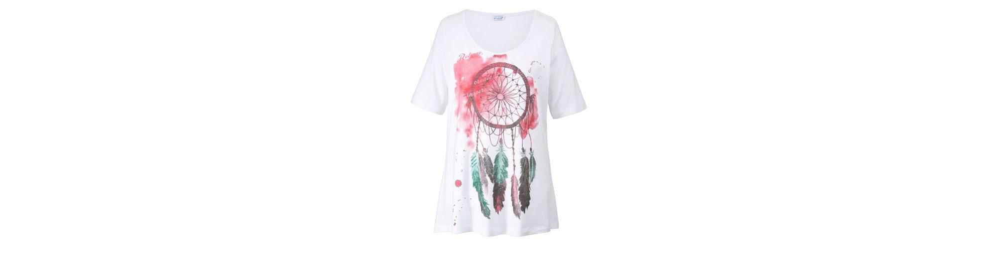 Geschäft Angel of Style by Happy Size Shirt mit Frontprint Traumfänger Günstig Kaufen Angebote Billig Gutes Verkauf Verkauf Niedrigen Preis Versandgebühr Gutes Verkauf Günstiger Preis aEW5DG