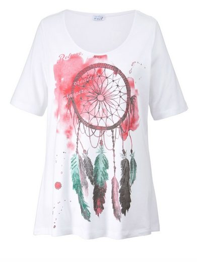 Angel of Style by Happy Size Shirt mit Frontprint Traumfänger