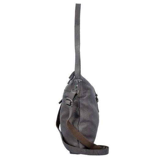Spikes & Sparrow Idaho Schultertasche Leder 32 cm