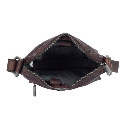 Spikes & Sparrow Bronco Umhängetasche Leder 21 cm