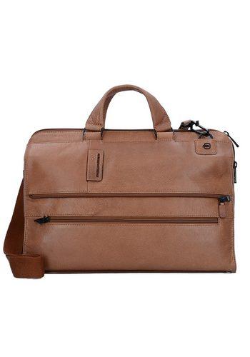 Damen Piquadro Pulse 4025 Aktentasche Leder 42 cm Laptopfach  | 08024671437615