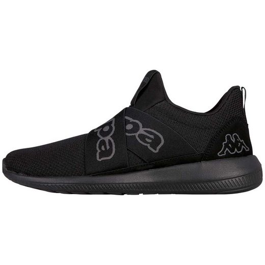 Kappa »FASTER II« Sneaker mit breiten, gekreuzten Elastikbändern