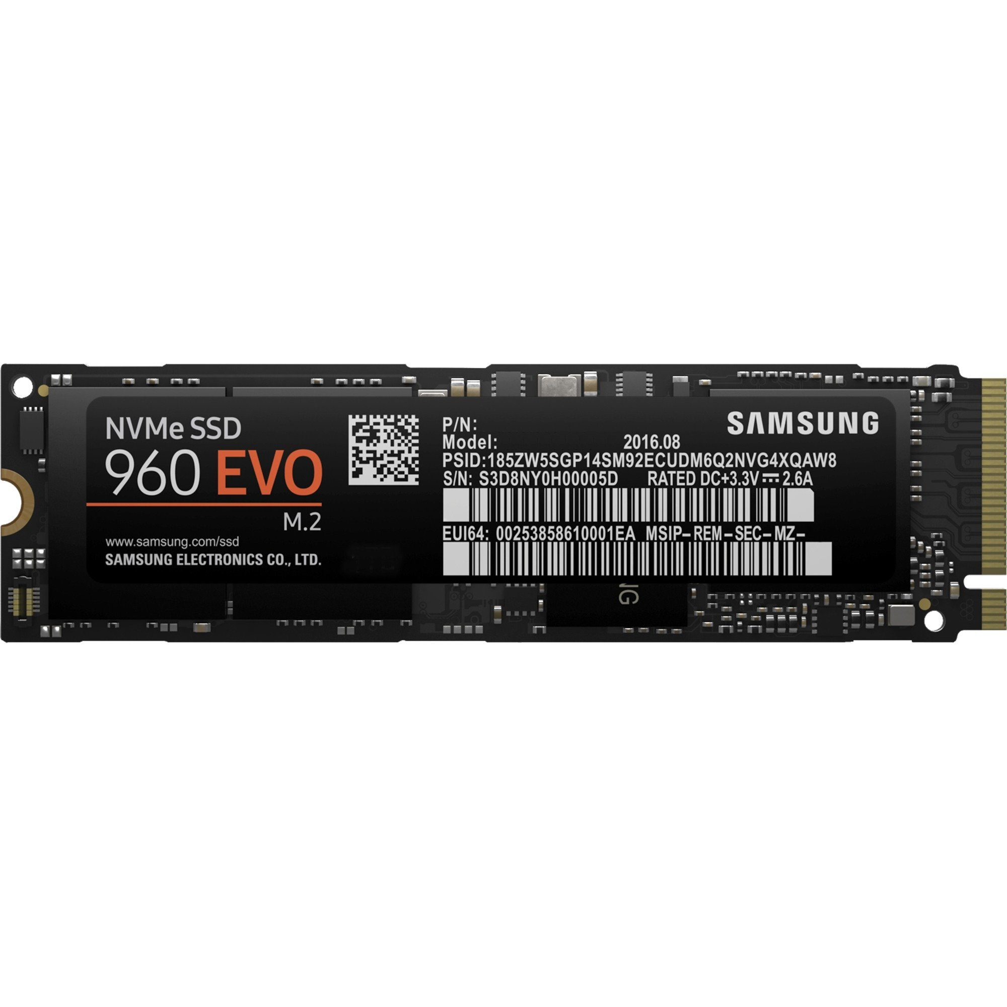 Samsung Solid State Drive »960 EVO 250 GB«