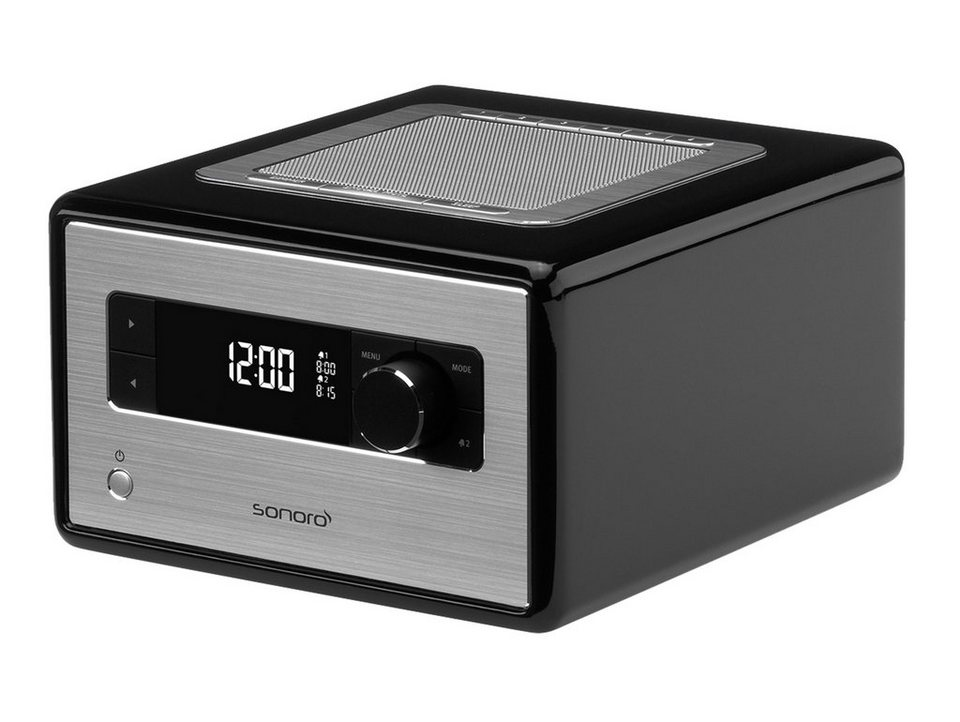 sonoro digitalradio mit bluetooth sleeptimer. Black Bedroom Furniture Sets. Home Design Ideas