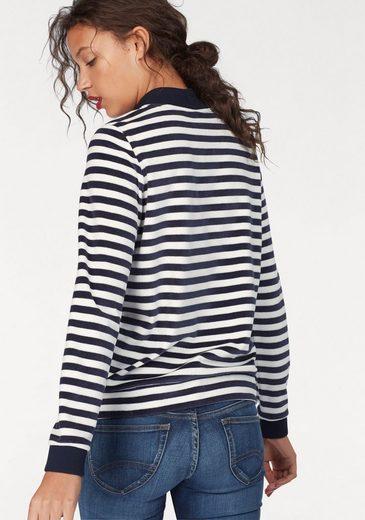 Bench Fleeceshirt, im Streifen-Design