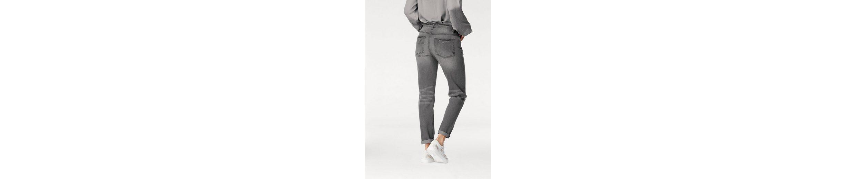 Laura Scott Boyfriend-Jeans, mit verzierter Coinpocket