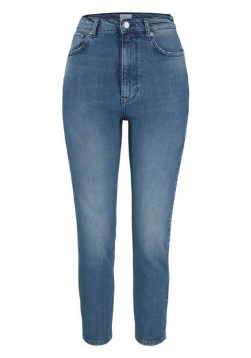 Pepe Jeans High-waist-Jeans BETTY, mit kontrastfarbenem Piping